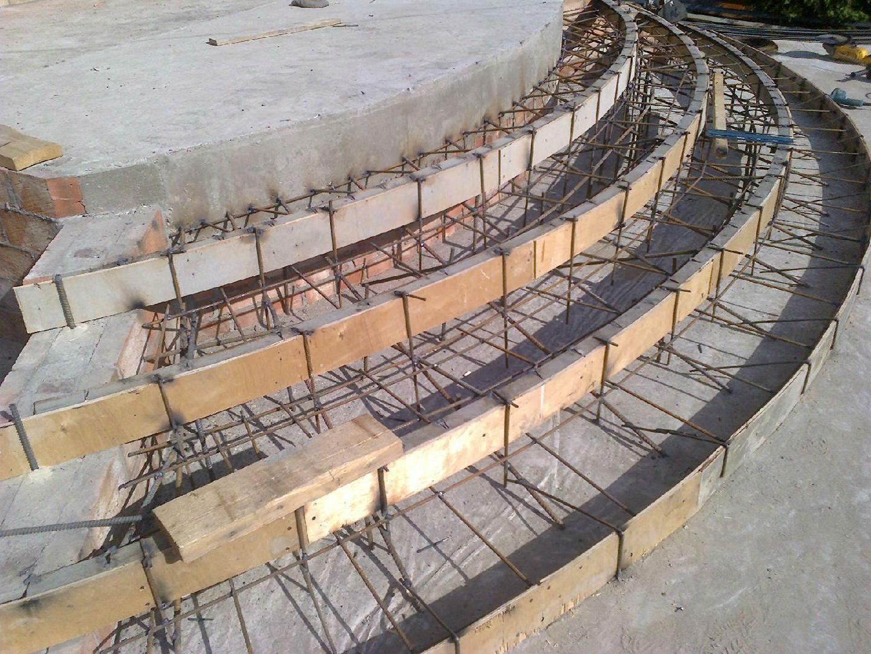использованный бетон